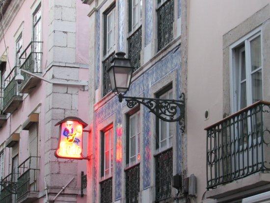 O Faia - Casa de Fados: Fachada do restaurante O Faia