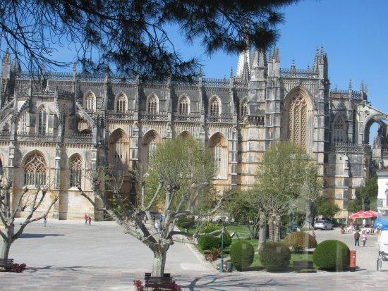 Batalha, Portugal: lado de fora do mosteiro