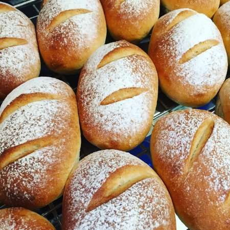 The Swiss Cake and Coffee Shop: sourdough buns