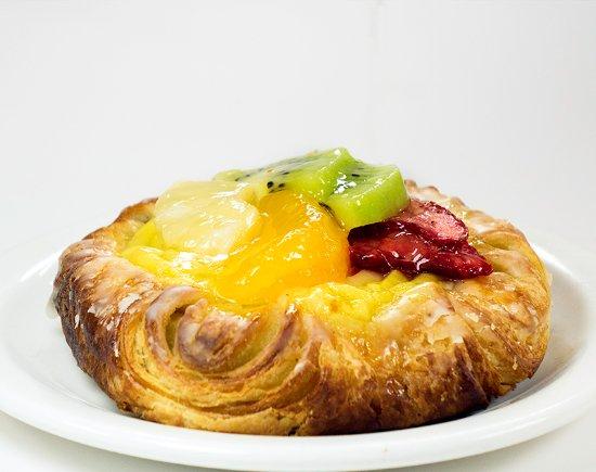 The Swiss Cake and Coffee Shop: large Fruit Danish