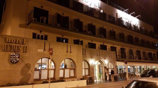 Hotel Medes II: FACHADA DEL ESTABLECIMIENTO