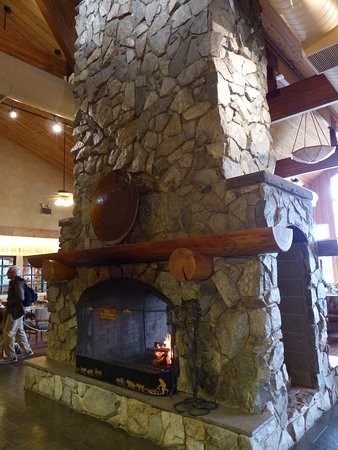 Trapper Creek, AK: Inside the main building at Mt. McKinley Princess