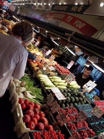 Pike Place Market : Fresh vegetables