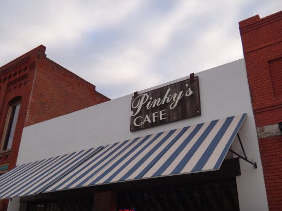 Pinky's Cafe: Find it in the historic section of city