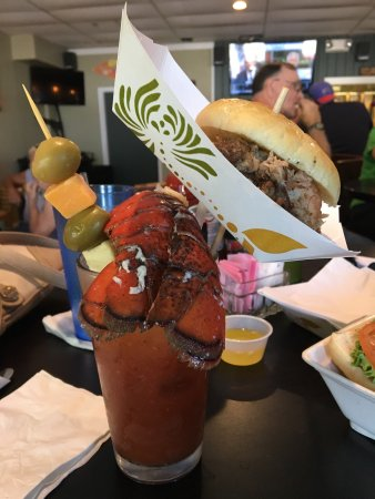 Honeoye, NY: Extreme Bloody Mary