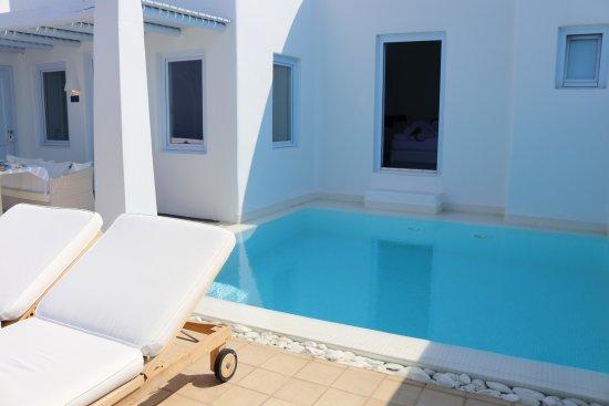 Astra Suites: Room 305 pool