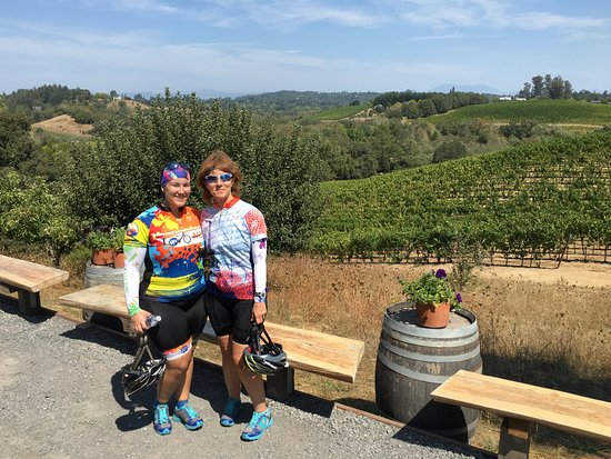 Wine Country Bikes: Iron Horse Winery