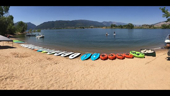 Huntsville, UT: Detours: Sup's and Kayaks, Beautiful day