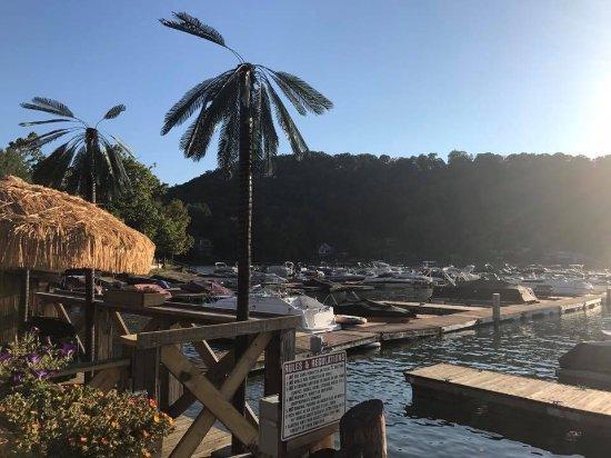 Morgantown, WV: Tropical theme to the restaurant