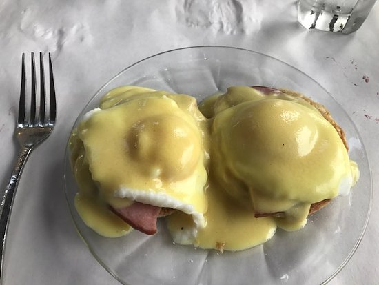 The Other Side: Eggs Benedict custom made for you on the spot for Sunday Brunch.