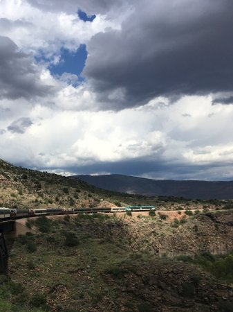 Clarkdale, AZ: Train trip