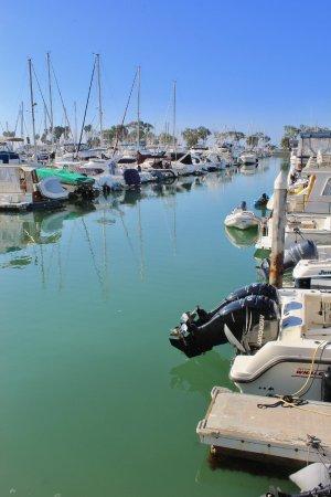 Dana Point, CA: Walking along the harbor...