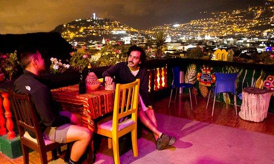 Downtown Guayunga Hostel: Beautiful View - Terrace Bar