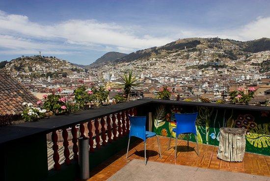 Downtown Guayunga Hostel: Vista desde la Terraza