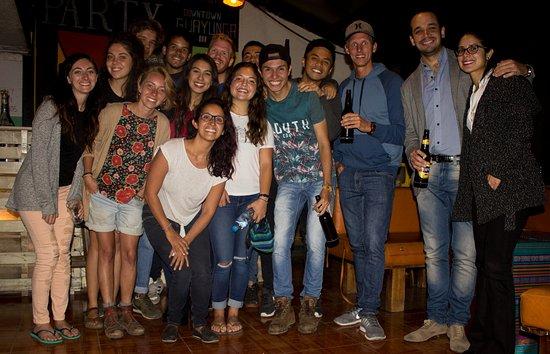 Downtown Guayunga Hostel: Fiesta!!!!