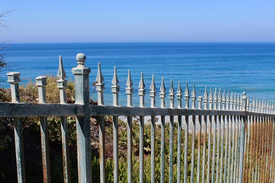 Dana Point, Καλιφόρνια: loved the look of the fence...
