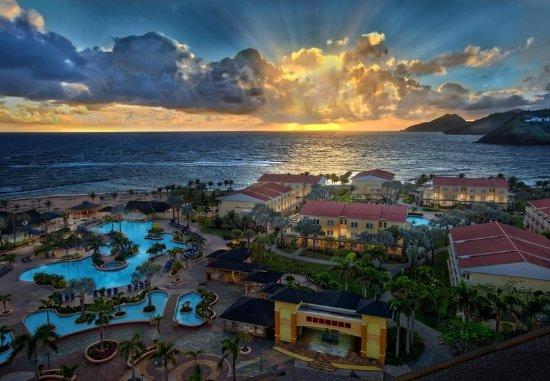Frigate Bay, St. Kitts: Resort Aerial View