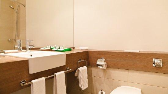 ฮอลิเดย์อินน์ เซนต์ปีเตอร์สเบิร์กมอสโกสกีโวโรต้า: Guest Bathroom