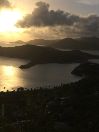 English Harbour, Antigua: view