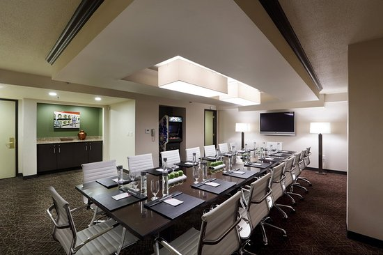 Natick, MA: Our Aquarius Boardroom is perfect for small meetings.