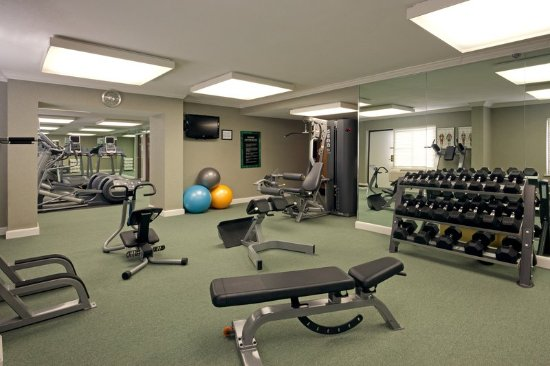 Natick, MA: Our in-house fitness center carries all the key workout equipment.