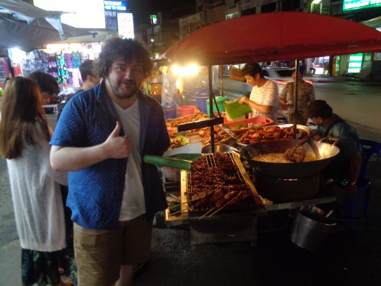 Asian street meat thailand patong beach phuket