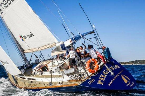 Twilight Yacht Racing on Sydney...