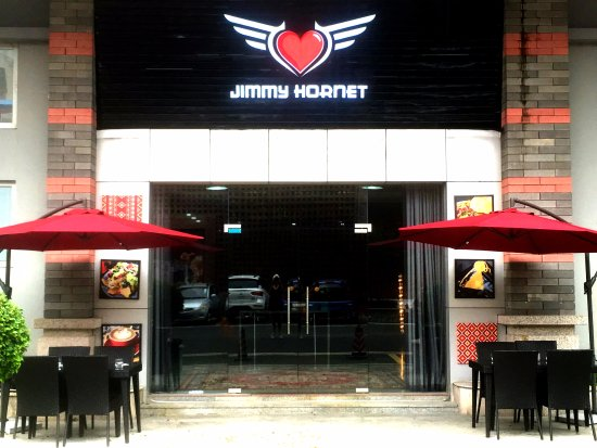 Чжуншань, Китай: Welcome to Jimmy Hornet