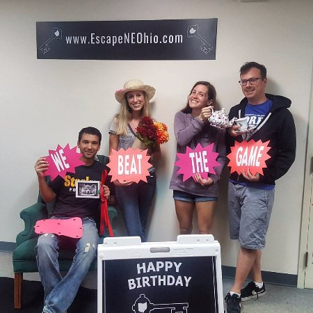 Escape NE Ohio: We did it!
