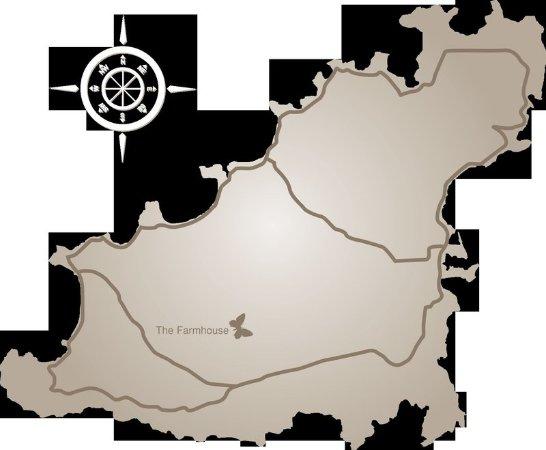 Saint Saviour, UK: Map
