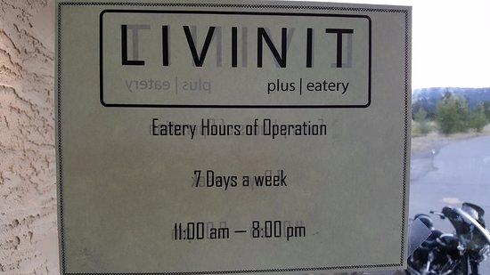Princeton, Kanada: Opening hours