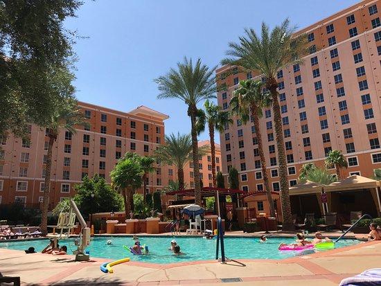 Wyndham Grand Desert: great adult pool
