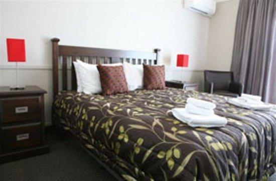 Ashburton, New Zealand: Deluxe King Room