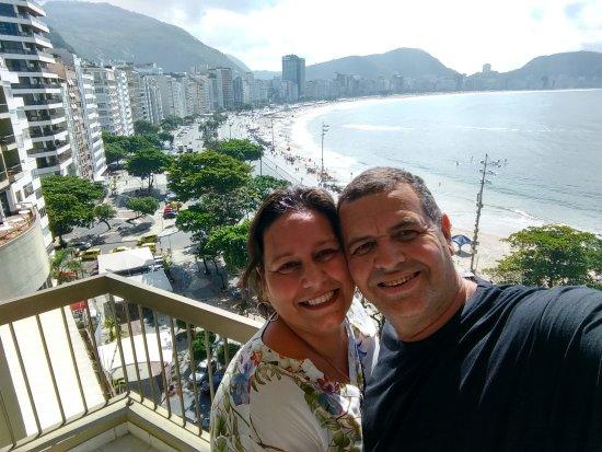 Sofitel Rio de Janeiro Copacabana: Vista de Copacabana.