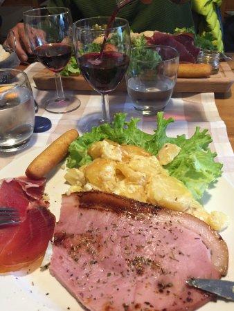 Auberge Montagnarde: so delicious