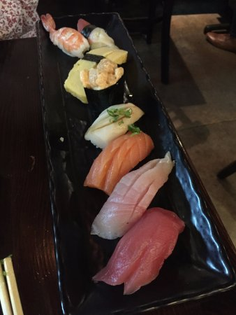 Alhambra, CA: Assorted sushi