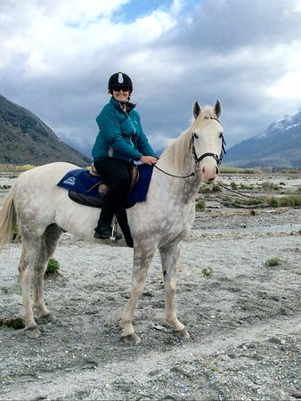 Glenorchy, New Zealand: Mr Pistol, my steed for the day.