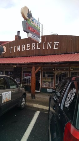 Timberline Cafe: Front of restaurant.