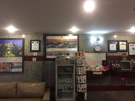 Little Saigon Boutique Hotel: at the lobby