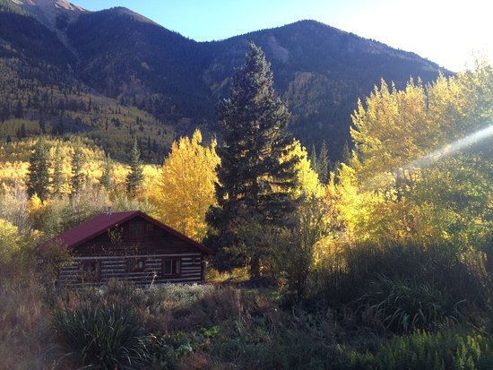 "Twin Lakes, CO: View of ""The Barn"""