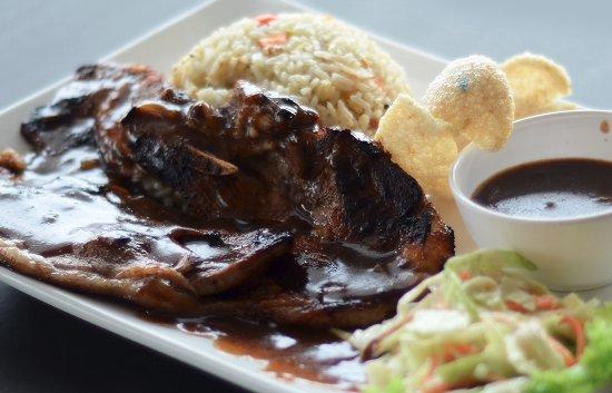Restoran Seri Keningau: NASI GORENG LAMB CHOP