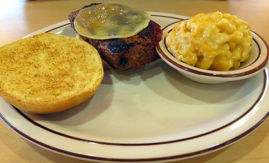 Shepherdsville, KY: meat loaf sandwich with mac 'n cheese