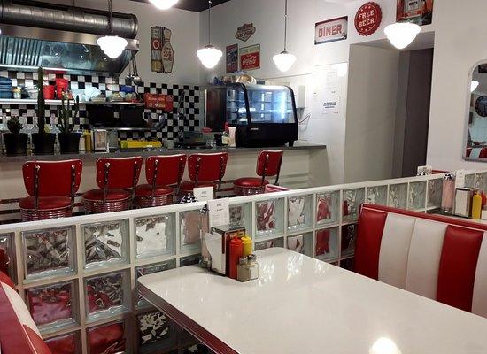 50er Diner Look - Bild von Teddy\'s American Diner, Wien - TripAdvisor