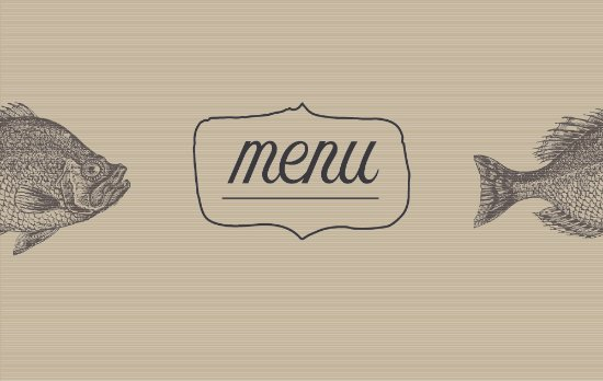 Thalassa Restaurant: Thalassa menu cover
