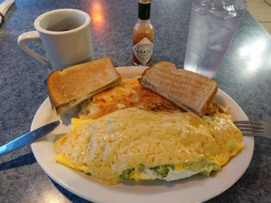 Cocoa Diner: This Cocoa omelette is from my breakfast, and is a MUST TRY!!!
