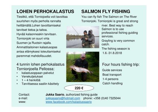 Pello, Suomi: Fishing services 2018