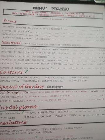 Little Italy: menu