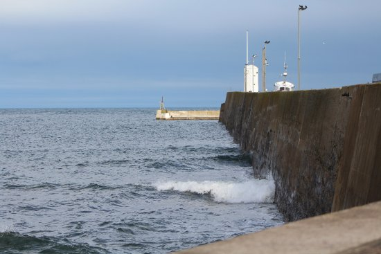 Seahouses, UK: The Pier