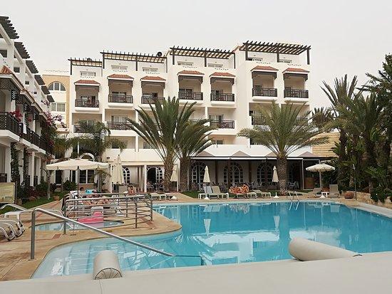 Hotel timoulay spa agadir photo de hotel timoulay for Salon chicha agadir