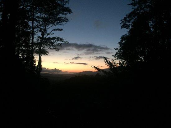Malanda, Australia: Sunrise